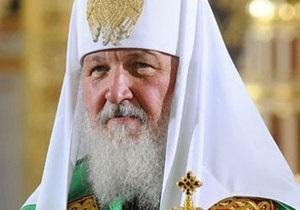 Патриарх Кирилл отслужил молебен в Киево-Печерской Лавре