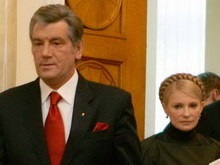 НГ: Тимошенко ушла в тень Ющенко