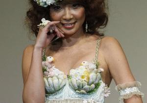 Фотогалерея: Цветочный бюстгальтер. В Японии прошел конкурс нижнего белья