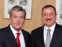 Ющенко и президент Азербайджана обсудили сотрудничество в энергетике