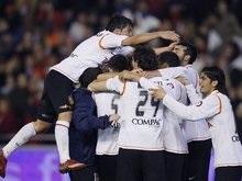 Валенсия оставила Барселону за бортом кубка Испании