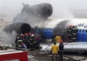 Аварийная посадка Ту-154 в Иране: новые подробности
