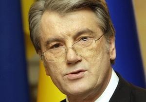 Ющенко: Наша Украина должна иметь персональное лицо в ВР