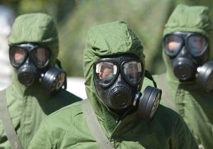 Сирия закончила подготовку химического оружия к использованию - источник в Пентагоне