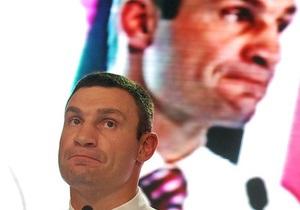 Кличко отрицает, что УДАР заказывал рейтинги с завышенными показателями