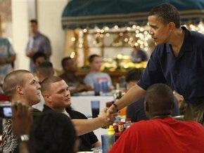 Обама отпраздновал Рождество с морскими пехотинцами