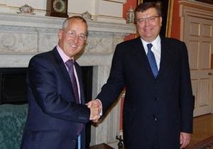 Украина и Великобритания выступают за углубление двустороннего сотрудничества в сфере безопасности
