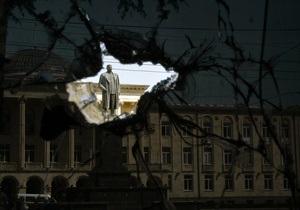 В Гори демонтировали памятник Сталину
