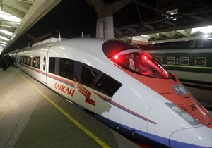 СМИ узнали, во сколько обойдется запуск скоростных поездов между Киевом и Москвой