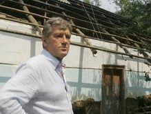 Ющенко посетит пострадавшую от стихии Винницкую область
