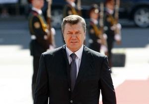 Ъ: Виктор Янукович исполнился чувства должности
