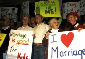 Сенат штата Вашингтон одобрил однополые браки