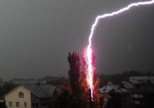 В Одессе бушует ураган