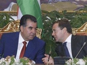 Медведев и Рахмон открыли новую ГЭС в Таджикистане