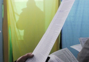 Протокол с результатами выборов на одном из участков Харькова признан поддельным. Возбуждено дело