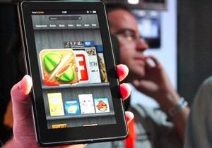 Amazon Kindle Fire занял в США половину рынка планшетов на Android