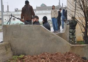 В Дамаске вспыхнули столкновения между правительственной армией и повстанцами