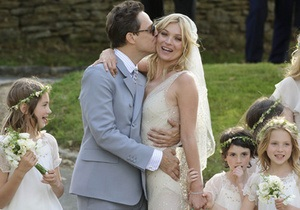 Фотогалерея: Британская суперневеста. Кейт Мосс вышла замуж