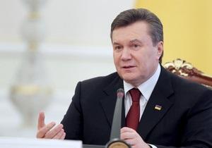 Янукович: В Украине невозможна российская модель власти