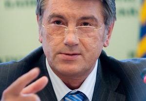 Ющенко вновь остановил решение Кабмина о госгарантиях на полмиллиарда долларов