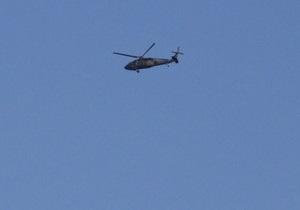 Под Дамаском военный вертолет столкнулся с пассажирским лайнером