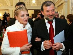 Балога проводит с Тимошенко продолжительные беседы