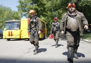 На шахте Скочинского продолжают искать троих горняков