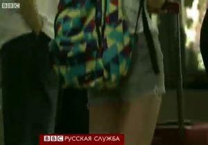 Скандал в Китае из-за прозрачного платья в метро
