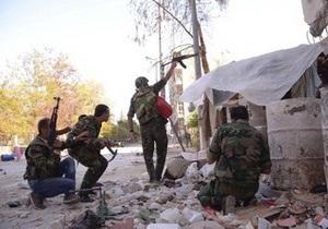 В Сирии повстанцы захватили нефтяное месторождение