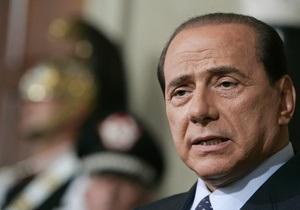 МИД Украины ожидает в следующем году приезда Берлускони