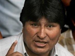 Президент Боливии прекратил голодовку