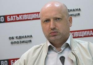 Турчинов: Объединенная оппозиция набирает не менее 30% голосов