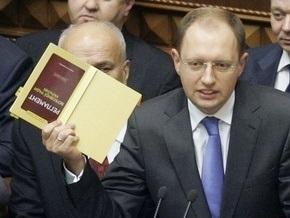 Партия регионов предложила Яценюку пройти  тест на прочность