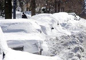 Снегопады в США: Нью-Йорк ждет нового удара стихии. Вашингтон просит о помощи