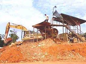 Венесуэла национализирует крупнейший золотодобывающий рудник