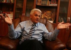 Литвин исключил из повестки дня заседания ВР законопроект о выборах