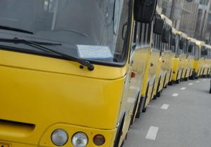 ГАИ задержала в Киеве водителя маршрутки без документов
