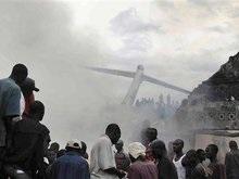 В авиакатастрофе в Конго выжили десятки человек