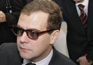 Медведев: РФ не боится снижения цен на газ в Европе - Газпром
