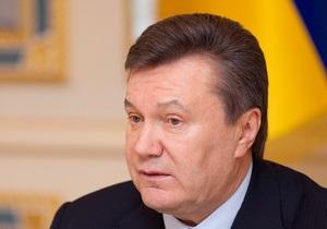 Янукович уволил ряд высокопоставленных чиновников