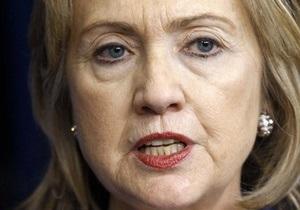Госсекретарь США Хиллари Клинтон прибыла в Израиль