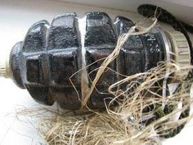 В Винницкой области на крыше школы нашли гранату
