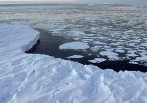 Глобальное потепление может растопить проливы в Антарктиде
