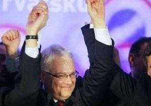 На президентских выборах в Хорватии победил профессор права и композитор