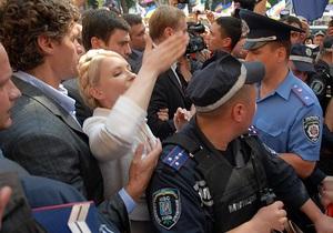 Интерфакс: Драки вокруг Тимошенко