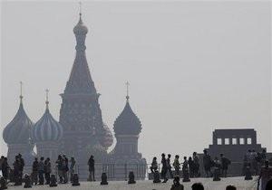 Москву вновь окутал смог