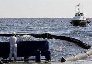 Американцы подожгли нефтяное пятно в Мексиканском заливе