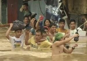 Наводнение на Филиппинах: число жертв возросло до 92