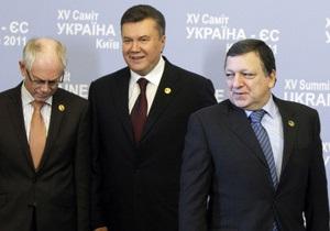 Янукович назвал дату завершения переговоров о безвизовом режиме с ЕС