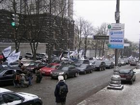 В Киеве заблокирована улица Грушевского (уточнено)